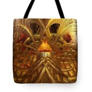 Candle Light Abstract Infiniti Fx  Tote Bag