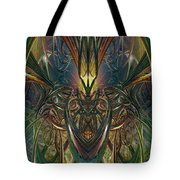Candle Light Abstract Phenomenon Fx  Tote Bag
