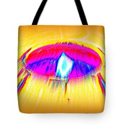 Candle On A Sunny Day Tote Bag
