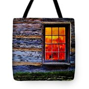 Candle Shop Window Tote Bag