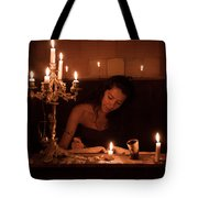 Candlelight Fantasia Tote Bag