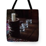 Candles In The Morning Tote Bag