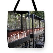 Candles Of Devotion Tote Bag