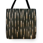 Candles On The Lake Udaipur India Tote Bag