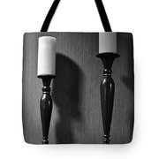 Candlestick Tote Bag by Frozen in Time Fine Art Photography