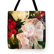 Candy Cane Dreams Tote Bag