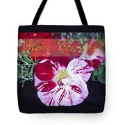 Candy Cane Flower-2 Tote Bag