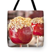 Candy Coated Apple Tote Bag