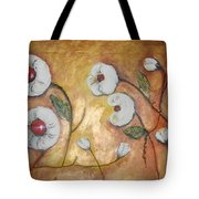 Candy Flowers 3 Tote Bag by Elena  Constantinescu