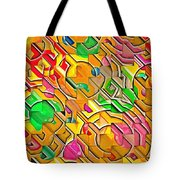 Candy - Lolly Pop Abstract  Tote Bag