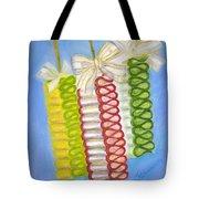 Candy Ribbon  Tote Bag