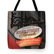 Candy Shop Sign Tote Bag