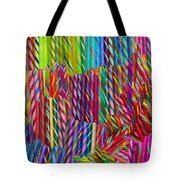 Candy Twists Tote Bag