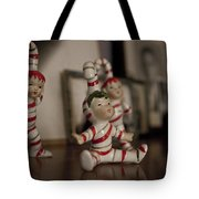 Candycane Kids Tote Bag