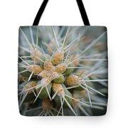 Cane Cholla Cactus Spines Tote Bag
