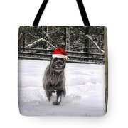 Cane Corso Christmas Tote Bag