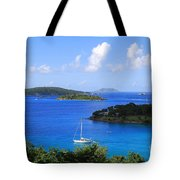 Caneel Bay In St. John In The U. S. Virgin Islands Tote Bag