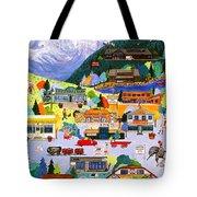 Canmore Art Walk Tote Bag