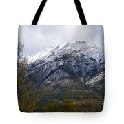 Canmore Rocky Mountain View  Tote Bag