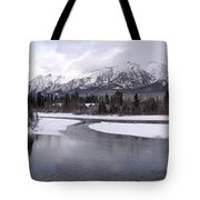 Canmore Winter Tote Bag