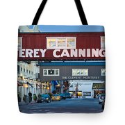 Cannery Row Area At Dawn, Monterey Tote Bag