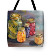 Canning Jars Tote Bag