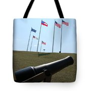 Cannon At Fort Sumter Tote Bag