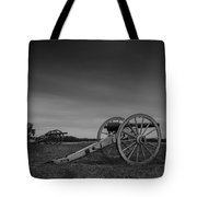 Cannon At Henry Hill Tote Bag