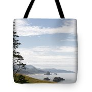 Cannon Beach At Ecola State Park Tote Bag