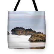 Cannon Beach Early Morning Mist Tote Bag