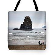 Cannon Beach Run Tote Bag