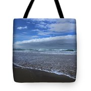Cannon Beach Surf And Storm Tote Bag