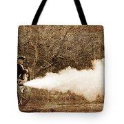 Cannon Fire Tote Bag