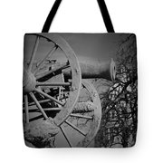 Cannon Fire Of Washington Tote Bag