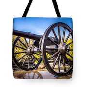 Cannon In New Orleans Washington Artillery Park Tote Bag
