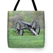 Cannon On Culp's Hill Tote Bag