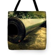 Elephanta Island Cannon Tote Bag