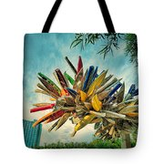 Canoe Art Tote Bag