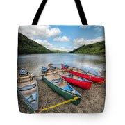 Canoe Break Tote Bag by Adrian Evans