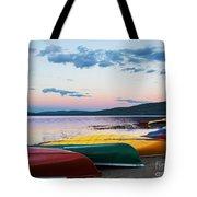 Canoe Colourama Tote Bag