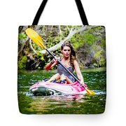 Canoe For Girls Tote Bag