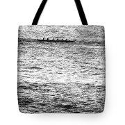 Canoe Glitter Tote Bag