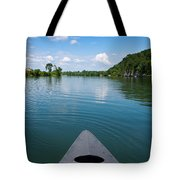 Canoe Ride Tote Bag