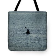 Canoeing In The Florida Riviera Tote Bag