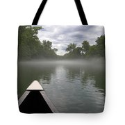 Canoeing The Ozarks Tote Bag