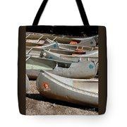 Canoes 143 Tote Bag