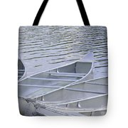 Canoes Waiting Tote Bag