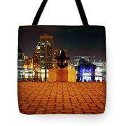 Canon View Of The City Tote Bag