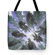 Daytime Jungle Sky By Jammer Tote Bag