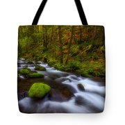 Canopy Of Green Tote Bag